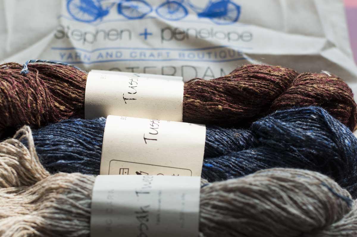 tussah-tweed