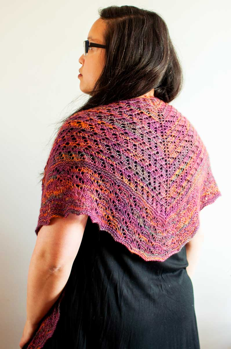 Willowdale Shawl 1