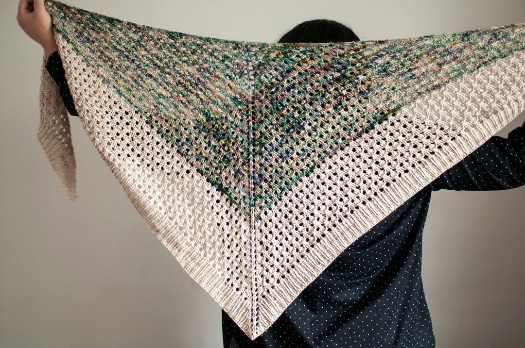 ingersoll knit shawl pattern